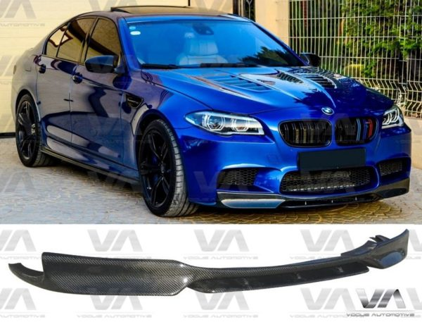 BMW M5 F10 CARBON FIBER VRS STYLE FRONT LIP SPOILER SPLITTER