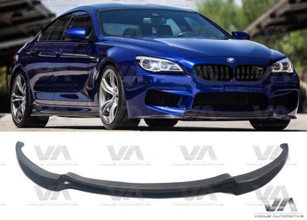 BMW M6 F06 F12 F13 CARBON FIBER V Style Front Splitter