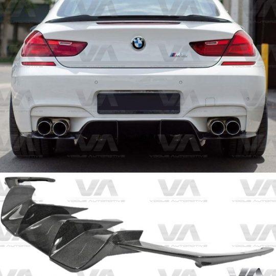 BMW M6 F06 F12 F13 CARBON FIBER V STYLE REAR DIFFUSER