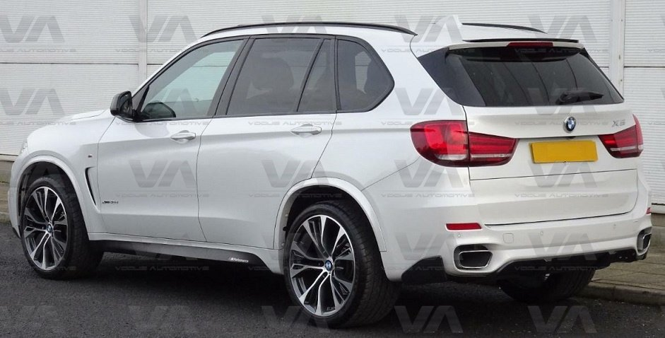 BMW X5 F15 PERFORMANCE Style CARBON FIBER Roof Spoiler