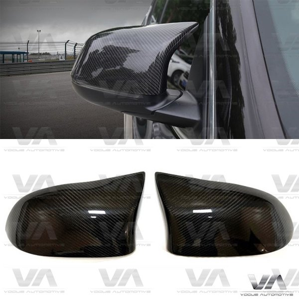 BMW X3 F25 X4 F26 X5 F15 X6 F16 M Style Replacement CARBON FIBER Mirror Covers