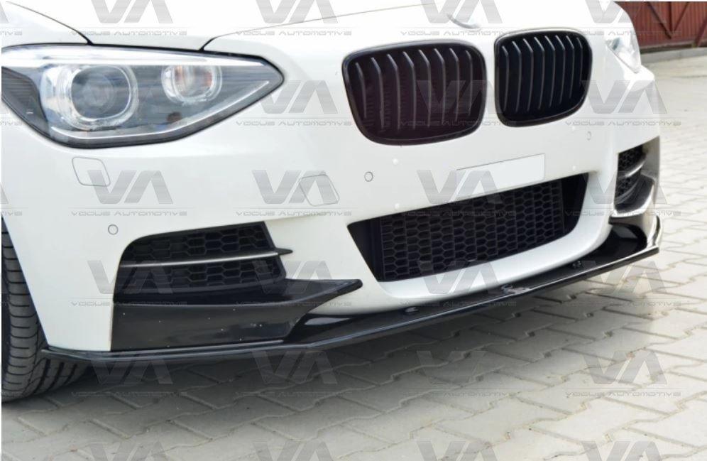 BMW 1 Series F20 F21 PRE LCI M Sport Front Splitter