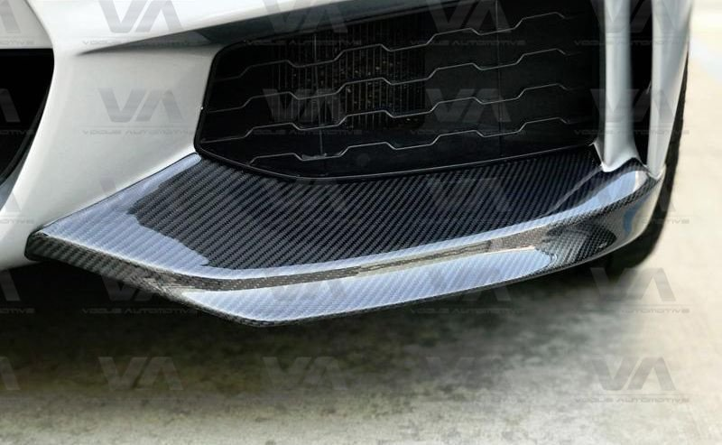 BMW 4 Series F32 F33 F36 M Sport CARBON FIBER Front Corner Splitters