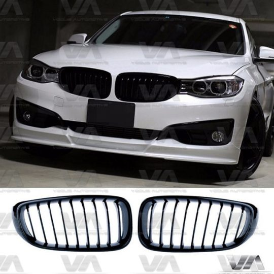 BMW 3 SERIES F34 GT GLOSS BLACK KIDNEY GRILL GRILLE