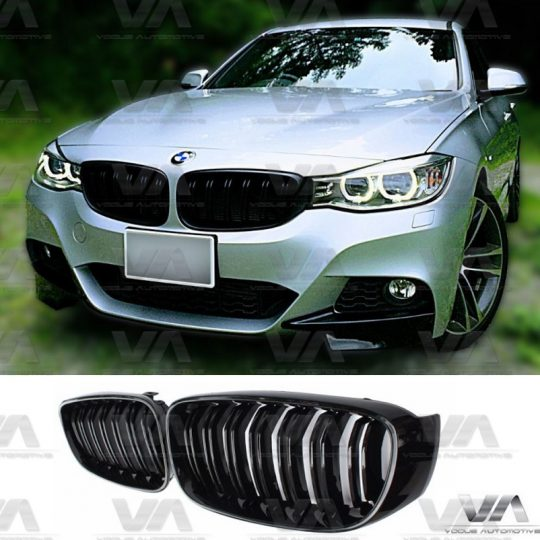 BMW 3 SERIES F34 GT GLOSS BLACK DOUBLE KIDNEY GRILL GRILLE