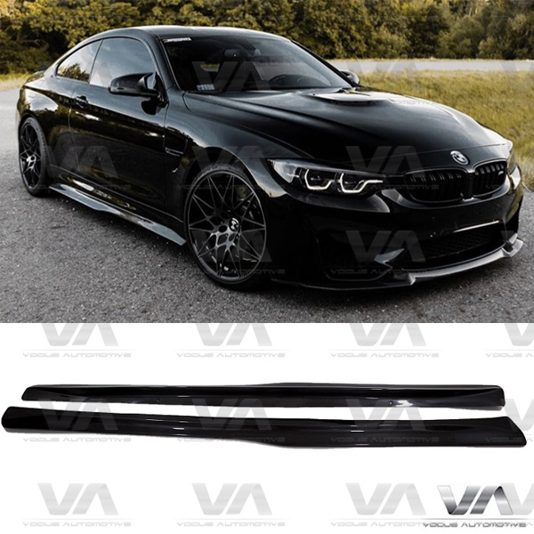 BMW M4 F82 F83 PSM Style CARBON FIBER Side Skirts