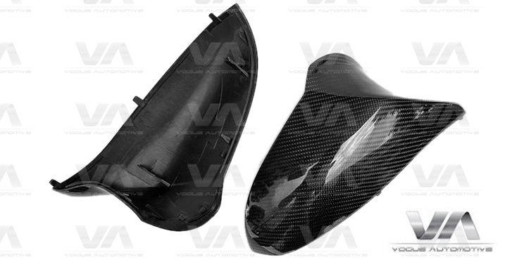 BMW M3 M4 F80 F82 F83 Replacement CARBON FIBER Mirror Covers RHD