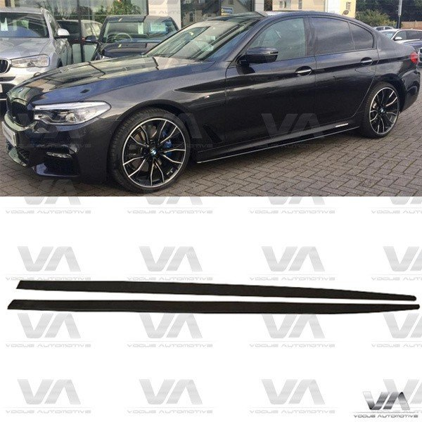 BMW 5 Series M Sport PERFORMANCE Style G30 G31 Side Skirts