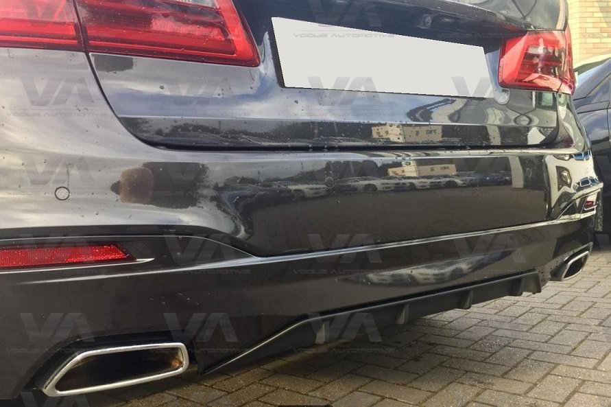 BMW 5 SERIES M Sport G30 G31 PERFORMANCE Style Rear Diffuser