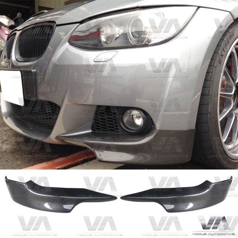 BMW 3 Series E92 E93 M Sport PRE LCI CARBON FIBER Corner Splitters