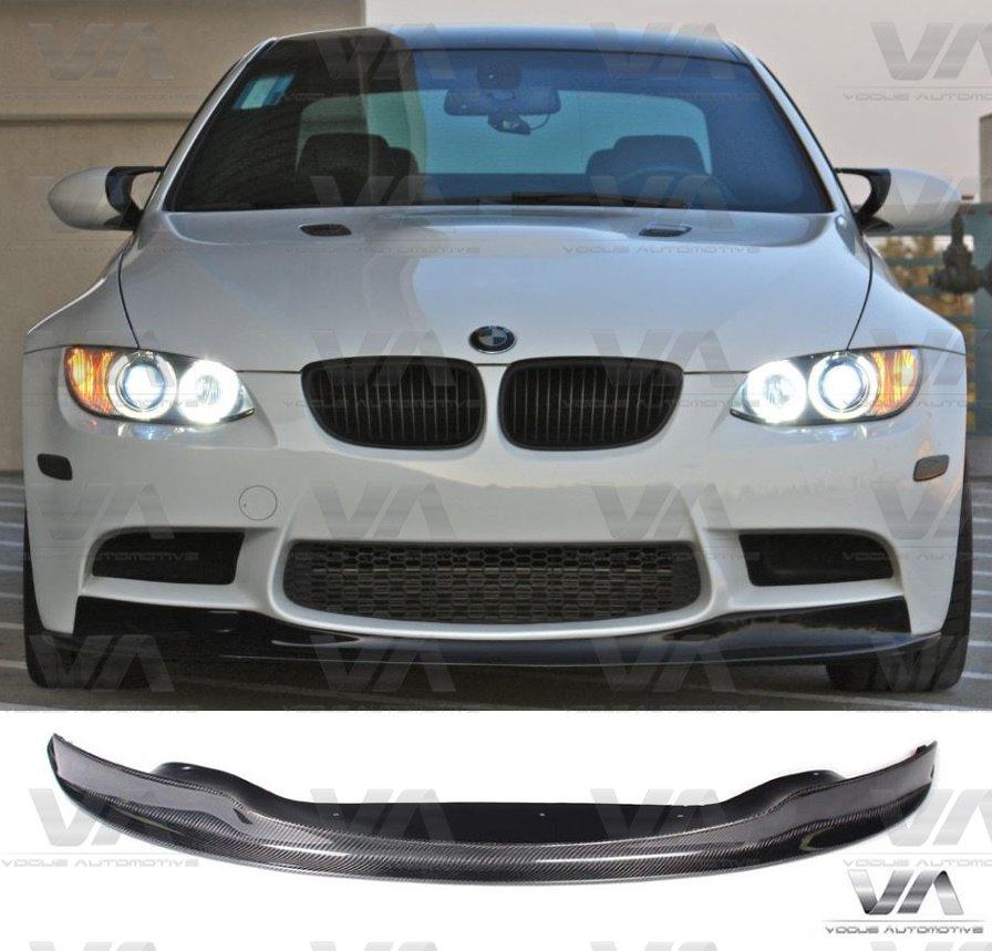 BMW M3 E90 E92 E93 AK Style CARBON FIBER Front Splitter