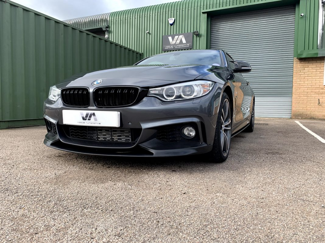 BMW 4 Series F32 PERFORMANCE Style Front Splitter