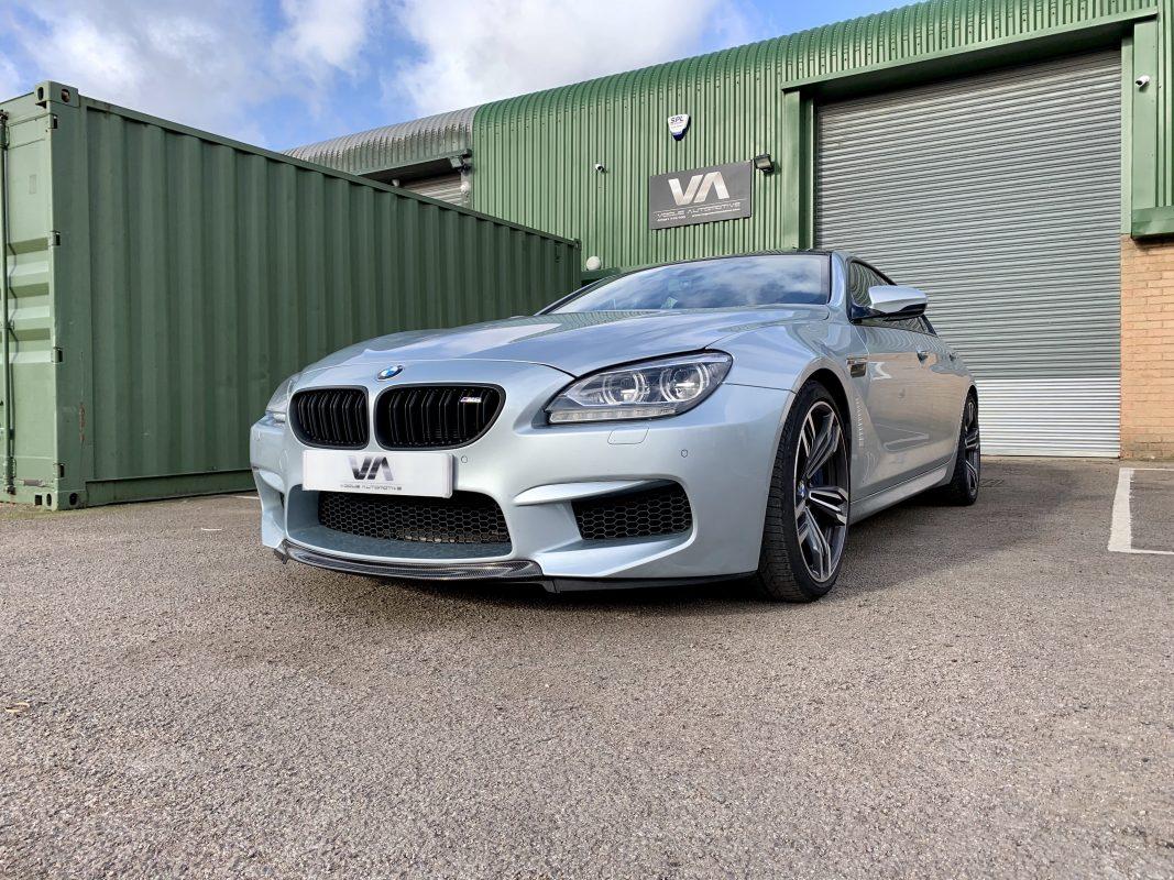 BMW M6 F06 F12 F13 CARBON FIBER RKP Style Front Splitter