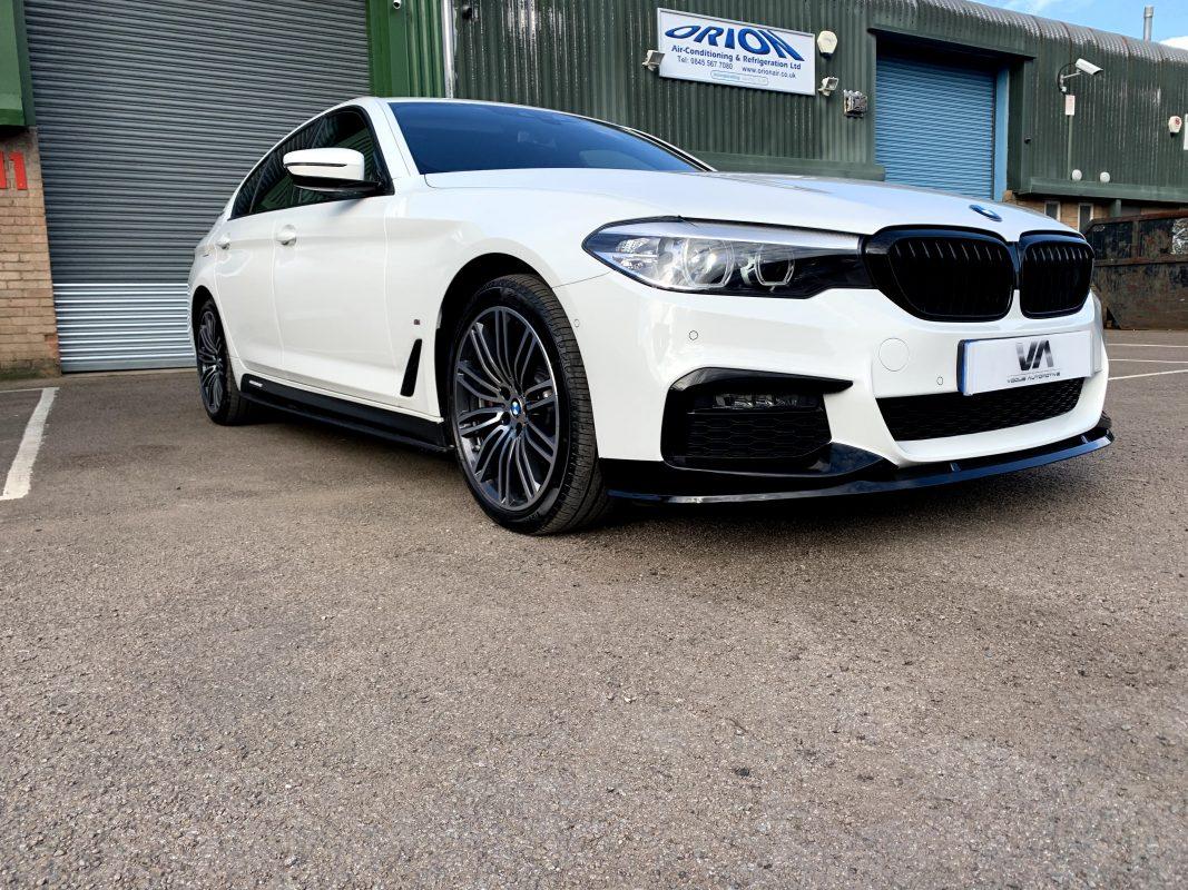 BMW 5 Series G30 Front Gloss Black Front Splitter