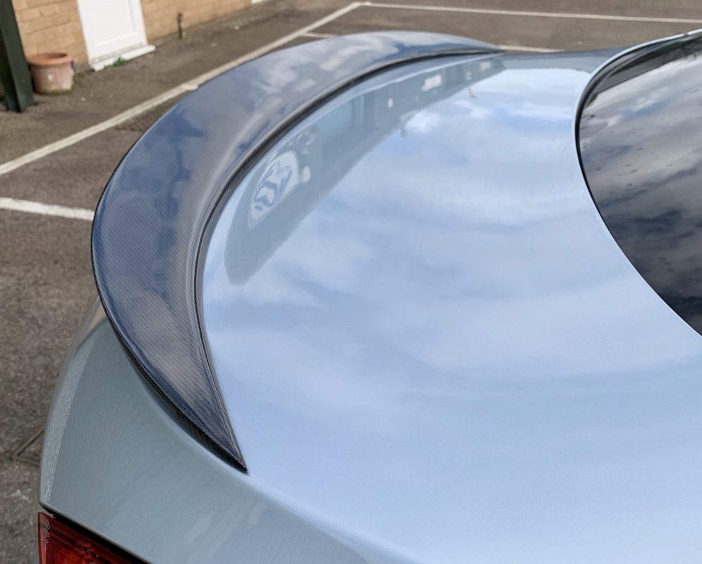 BMW M6 F06 F12 F13 CARBON FIBER Quad Exhaust Diffuser