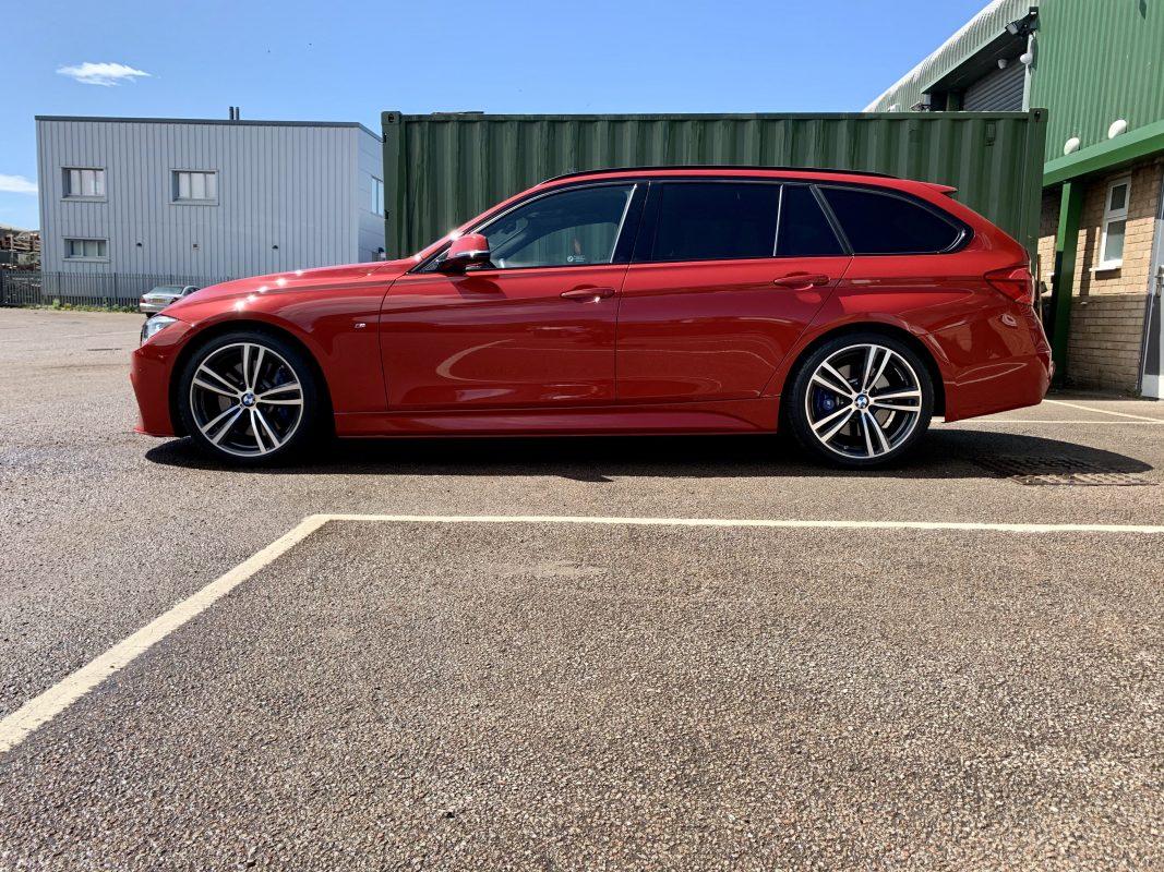 BMW F30 ABS PLASTIC BODY KIT RED