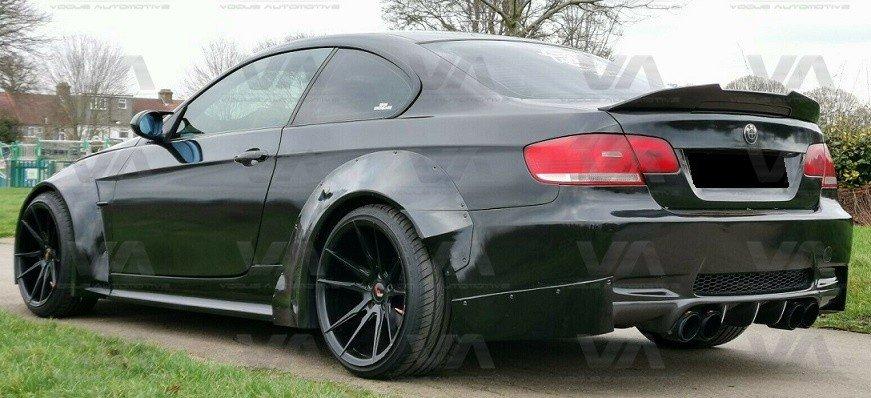 BMW 3 Series E92 M3 PSM Style CARBON FIBER Boot Spoiler