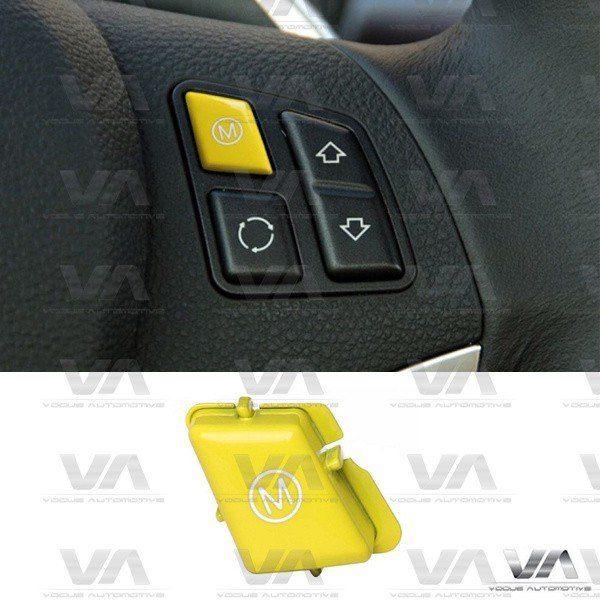 BMW E90 E92 E93 E70 E71 M3 X5M X6M Steering Wheel M Mode YELLOW Button