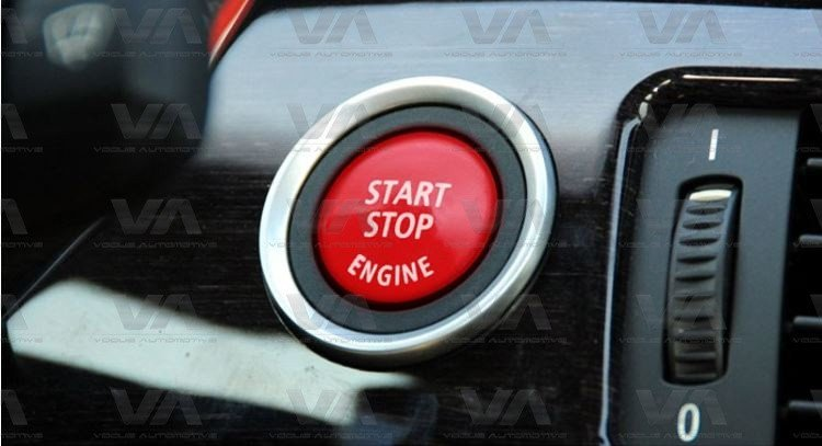 BMW 3 5 6 X3 X5 X6 Series E60 E90 E92 E70 E71 E86 E89 Start Stop Engine RED Button