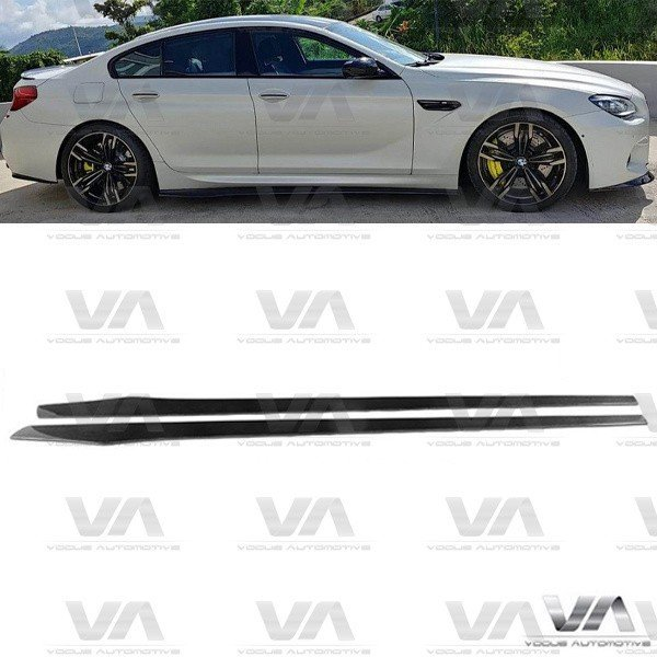BMW M6 F06 Gran Coupe VRS Style CARBON FIBER Side Skirts
