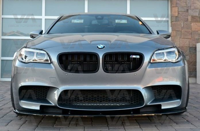 BMW 5 Series F10 M5 Front Splitter