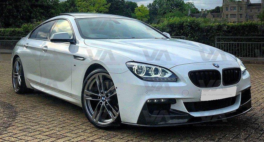 BMW 6 Series F06 F12 F13 PERFORMANCE Style CARBON FIBER Front Splitter