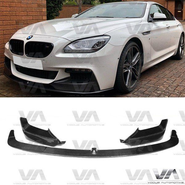 BMW 6 Series F06 F12 F13 PERFORMANCE Style CARBON FIBER Front Splitter