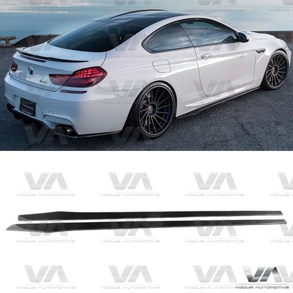 BMW M6 F12 F13 VRS Style CARBON FIBER Side Skirts