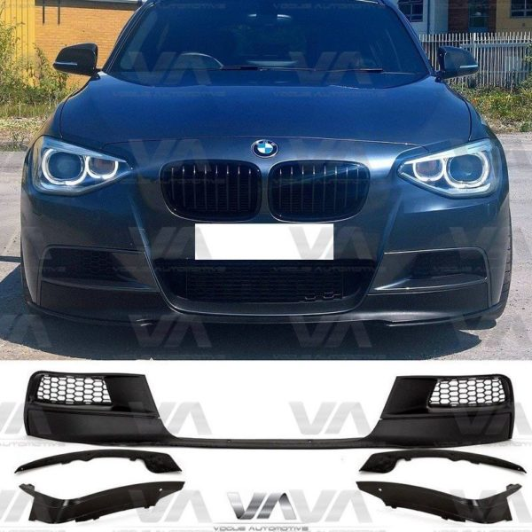BMW 1 Series F20 F21 PRE LCI M Sport PERFORMANCE Front Splitter Set