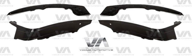 BMW 1 Series F20 F21 PRE LCI M Sport PERFORMANCE Front Splitter Set