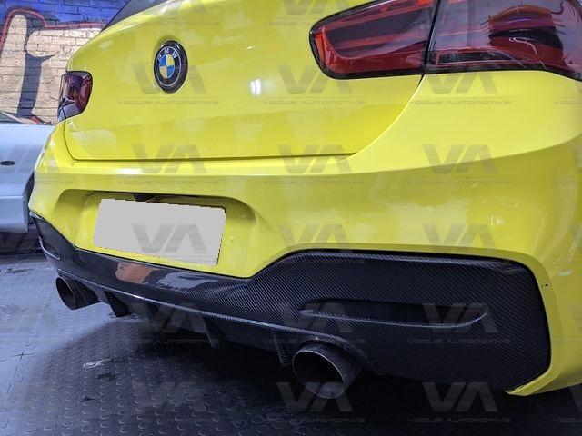 BMW 1 Series F20 F21 LCI M Sport CARBON FIBER PERFORMANCE Dual Exhaust