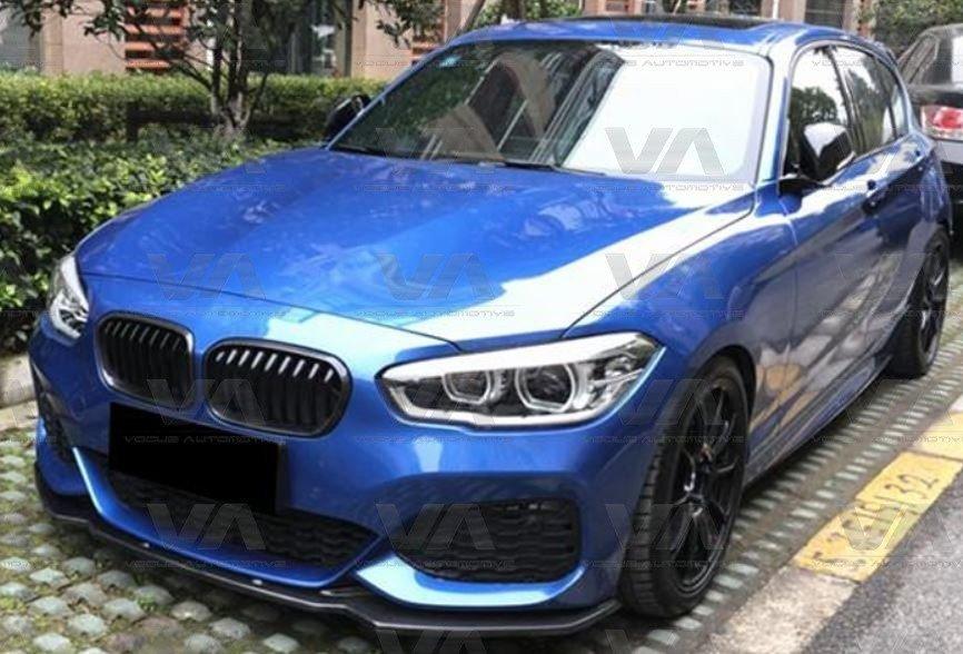 BMW 1 Series F20 F21 M Sport LCI CARBON FIBER Front Splitter