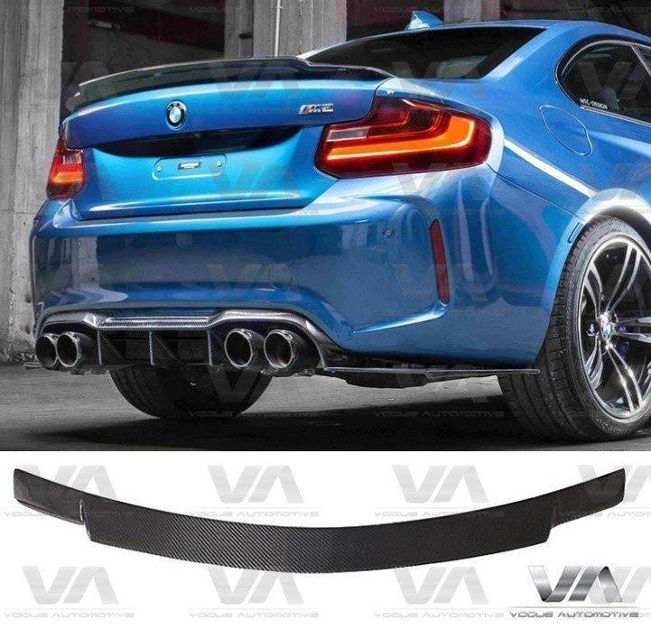 BMW 2 Series F22 F87 MTC Style CARBON FIBER Boot Spoiler