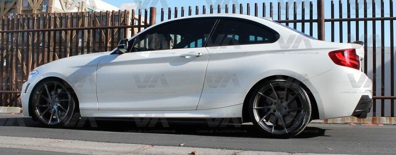 BMW 2 Series F22 F23 3D Style CARBON FIBER Side Skirts