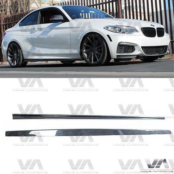BMW 2 Series F22 F23 3D Style CARBON FIBER Side Skirts