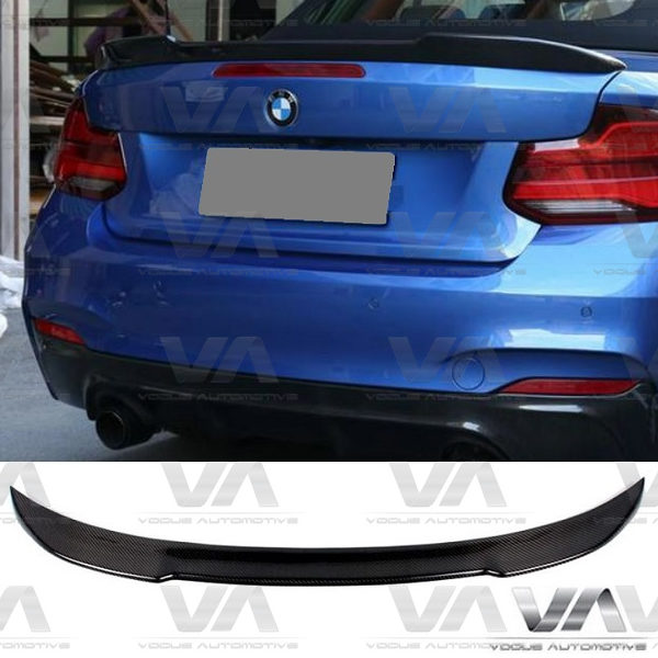 BMW 2 Series F23 Convertible CS Style CARBON FIBER Boot Spoiler