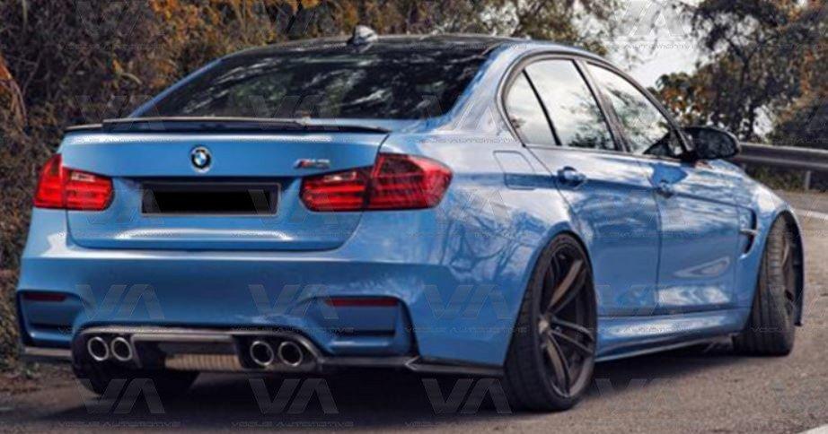 BMW 3 Series M3 F30 F80 MTC Style CARBON FIBER Boot Spoiler