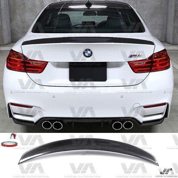 BMW M4 F82 3D Style CARBON FIBER Boot Spoiler