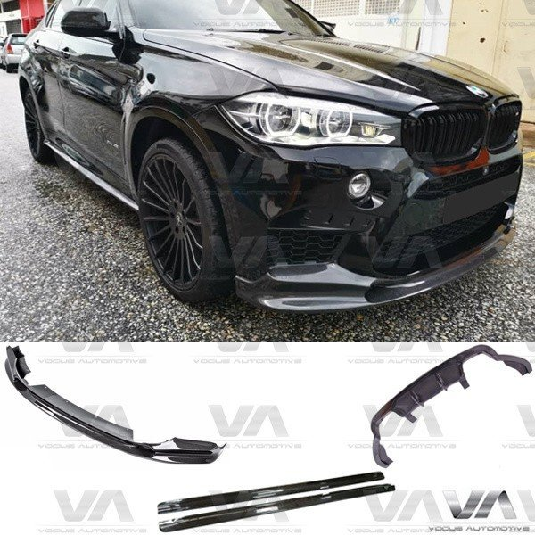 BMW X6M F86 3D Style CARBON FIBER Full Body Kit