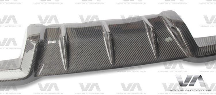 BMW M2 F87 PERFORMANCE Style CARBON FIBER Rear Diffuser
