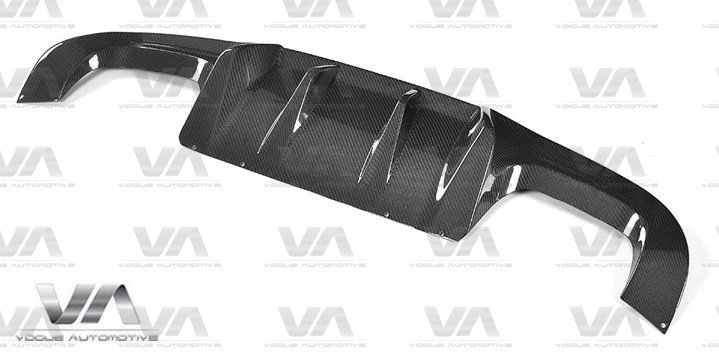 BMW M2 F87 AK Style CARBON FIBER Rear Diffuser
