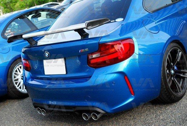 BMW M2 F87 PERFORMANCE Style CARBON FIBER Boot Spoiler
