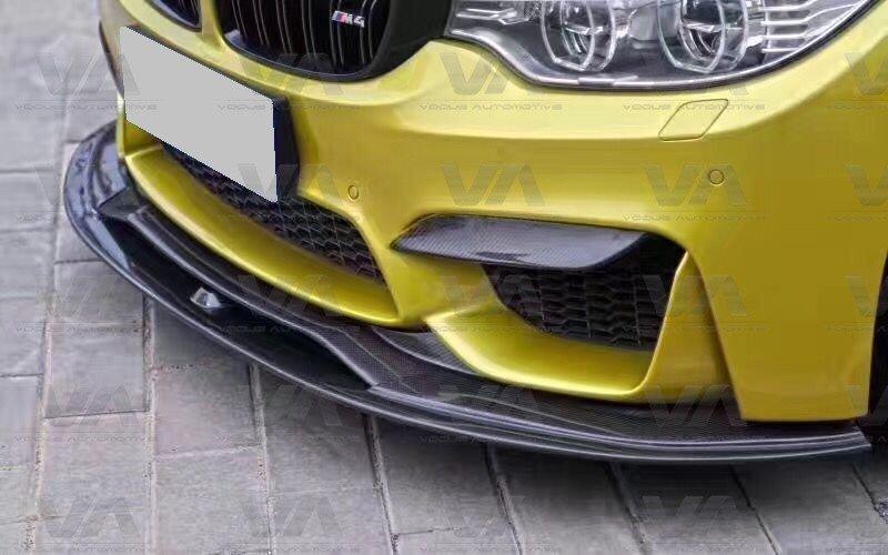 BMW M3 M4 F80 F82 F83 PSM Style CARBON FIBER Full Front Splitter