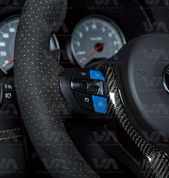BMW F80 F82 F83 F10 F85 F86 M3 M4 M5 X5M X6M Steering Wheel BLUE M1 M2 Buttons