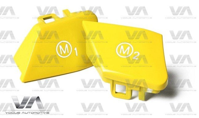 BMW F80 F82 F83 F10 F85 F86 M3 M4 M5 X5M X6M Steering Wheel YELLOW M1 M2 Buttons