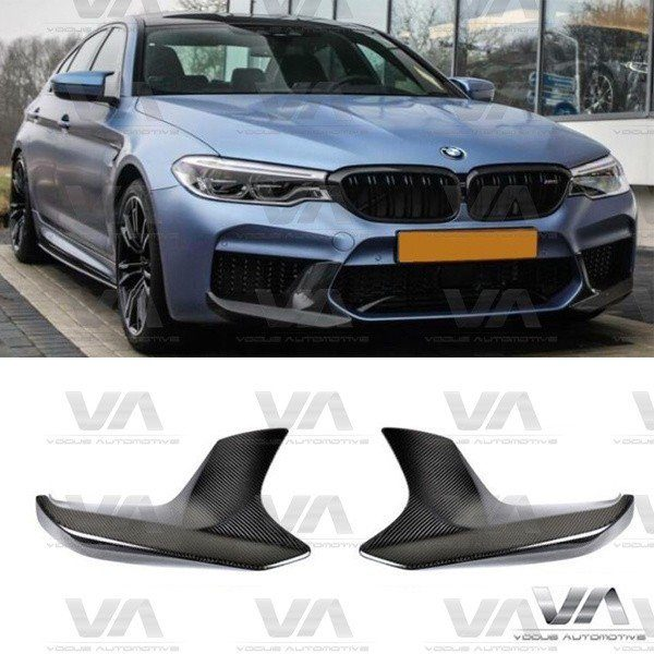 BMW F90 M5 PERFORMANCE Style CARBON FIBER Corner Splitters