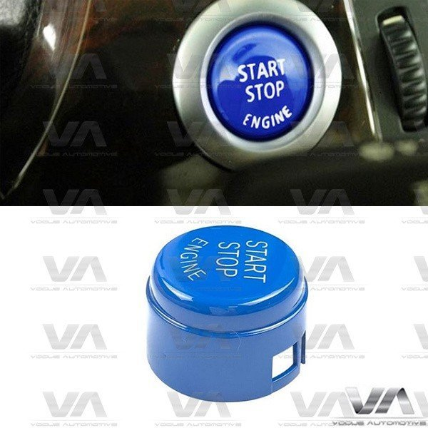 BMW 1 2 3 4 5 Series F10 F20 F30 Start Stop Engine BLUE Button W/O Off