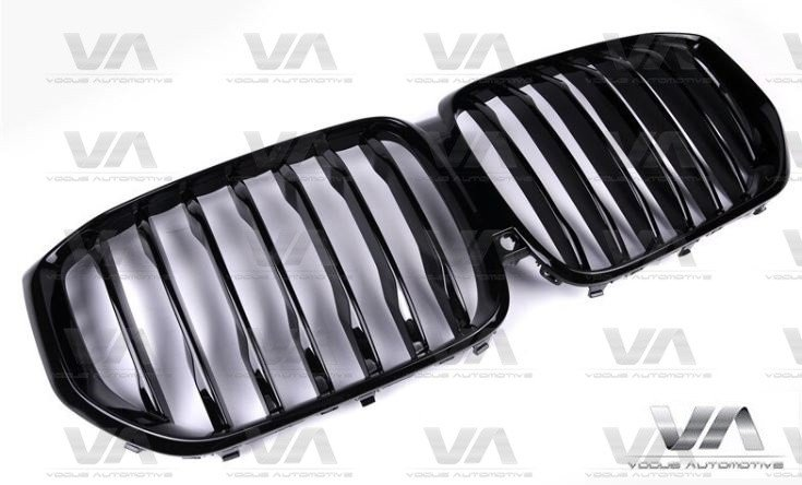BMW X5 G05 PERFORMANCE Style GLOSS BLACK Kidney Grilles