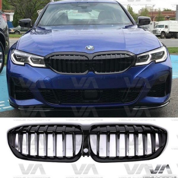 BMW 3 Series G20 G21 GLOSS BLACK Kidney Grilles