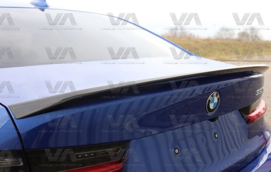 BMW 3 Series G20 PERFORMANCE Style CARBON FIBER Boot Spoiler